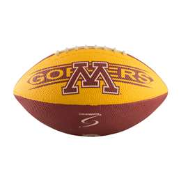 University of Minnesota Golden Gophers Junior Size Rubber Football
