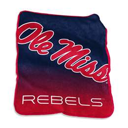 Ole Miss Rebels University of Mississippi Raschel Throw Blanket - 50 X 60 in.