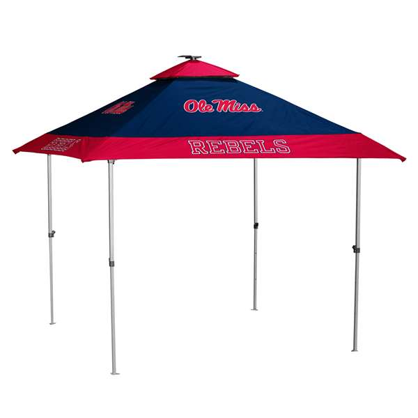 Ole Miss Rebels University of Mississippi 10 X 10 Pagoda Canopy Tailgate Tent
