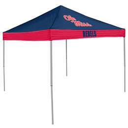 Ole Miss Rebels University of Mississippi 9 X 9 Economy Canopy - Tailgate Tent