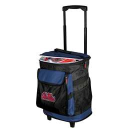 Ole Miss Rebels University of Mississippi 48 Can Rolling Cooler
