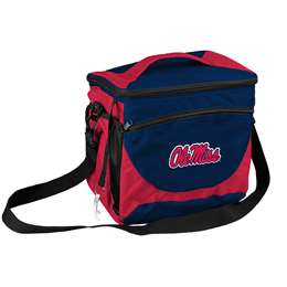 Ole Miss University of Mississippi 24 Can Cooler