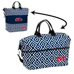 Ole Miss University of Mississippi Rebels Expandable Tote Bag