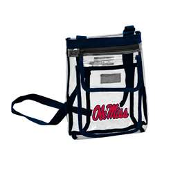 Ole Miss University of Mississippi Gameday Clear Crossbody