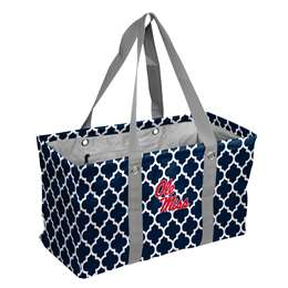Ole Miss University of Mississippi Rebels Picnic Caddy Tote Bag