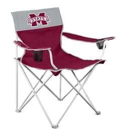 Mississippi State University Bulldogs Big Boy Folding Chair with Carry Bag