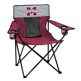 Mississippi State University Bulldogs Elite Folding Chair with Carry Bag