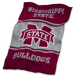 Mississippi State University Bulldogs Ultrasoft Throw Blanket