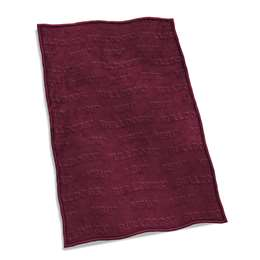 Mississippi State University Bulldogs Velvet Plush Throw Blanket