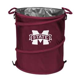 Mississippi State University Bulldogs 3-IN-1 Cooler Trash Can Hamper
