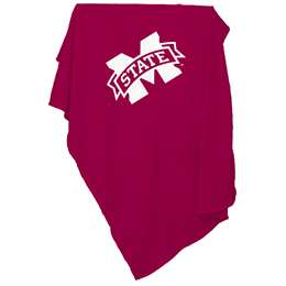Mississippi State University Bulldogs Sweatshirt Blanket