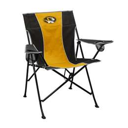 University of Missouri Tigers Pregame Folding Chair with Carry Bag