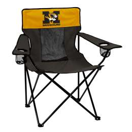 University of Missouri Tigers Elite Folding Chair with Carry Bag