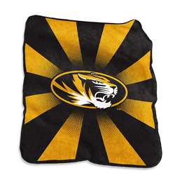 University of Missouri Tigers Raschel Throw Blanket