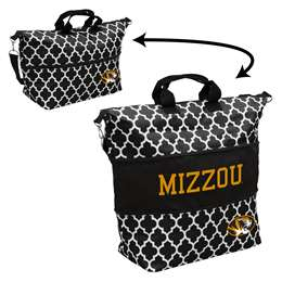 University of Missouri Tigers Expandable Carry Tote Bag