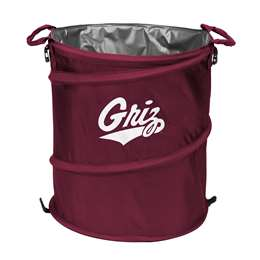 University of Montana Grizziles  3 in 1 Cooler, Trash Can, Hamper