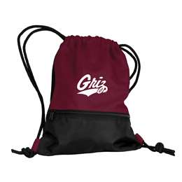 University of Montana String Pack Tote Bag Backpack Carry Case