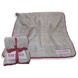 "New Mexico State University Aggies Frosty Fleece Blanket 60"" X 50"""
