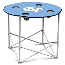University of North Carolina Tar Heels Round Folding Table with Carry Bag