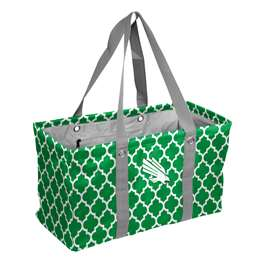 North Texas State University Mean GreenCrosshatch Picnic Tailgate Caddy Tote Bag