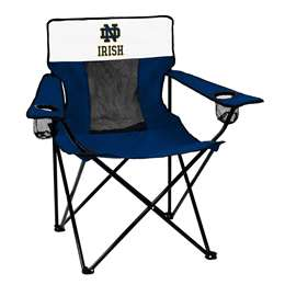 Notre Dame Navy/White Elite Chair