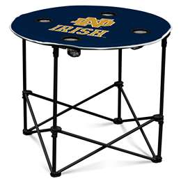 Notre Dame University Fighting Irish  Navy/White Round Table