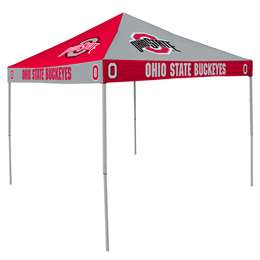 Ohio State University Buckeyes 9 X 9 Checkerboard Canopy - Tailgate Tent