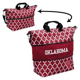 University of Oklahoma Sooners Expandable Carry Tote Bag