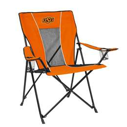 Oklahoma State University Cowboys Game Time Chair Folding Tailgate