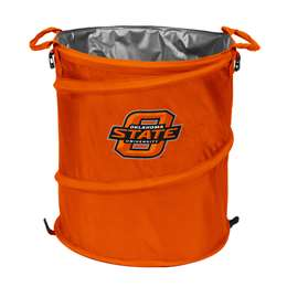Oklahoma State University Cowboys 3-IN-1 Cooler Trash Can Hamper