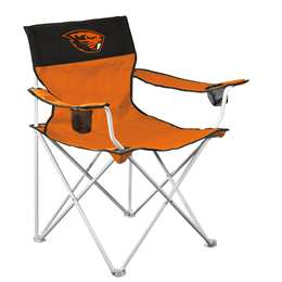 Oregon State University Badgers Big Boy Chair 350 Lbs Folding Tailgate Camping Chairs