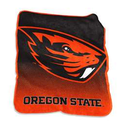 Oregon State University Raschel Throw