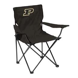 Purdue University Boilermakers Quad Folding Chair with Carry Bag
