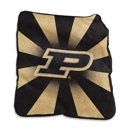 Purdue University Boilermakers Raschel Throw Blanket