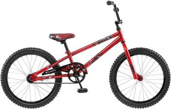 Pacific Boy's Flex Bicycle, 20-Inch, Red