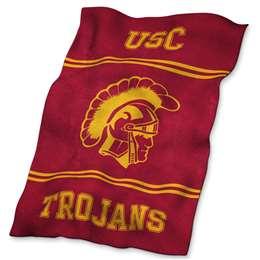 USC University of Southern California Trojans Ultrasoft Throw Blanket