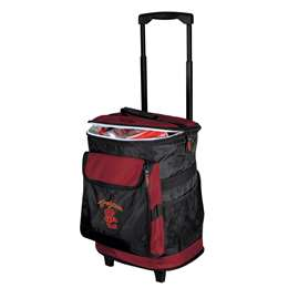 USC University of Southern California Trojans 48 Can Rolling Cooler