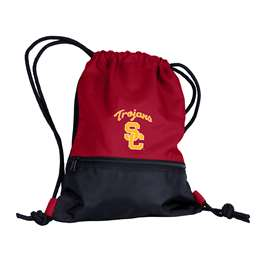 USC University of Southern California Trojans String Pack Tote Bag Backpack Carry Case