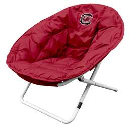 University of South Carolina Gamecocks Sphere Chair - Folding Dorm Room Tailgate