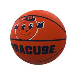 Syracuse Mascot Official-Size Rubber Basketball