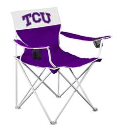 TCU Horned Frogs Big Boy Folding Chair with Carry Bag