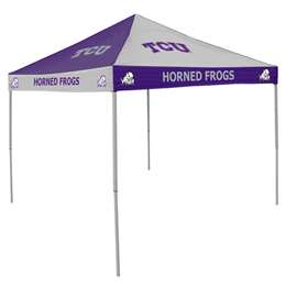 TCU Texas Christian University Horned Frogs 9 X 9 Checkerboard Canopy - Tailgate Tent