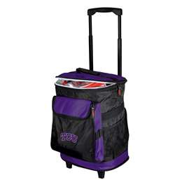 TCU Texas Christian University Horned Frogs 48 Can Rolling Cooler
