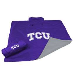 TCU Texas Christian University Horned Frogs All Weather Stadium Blanket