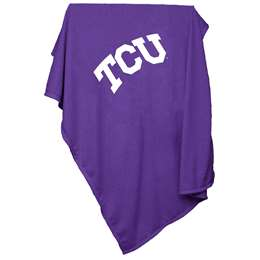 TCU Texas Christian University Horned Frogs Sweatshirt Blanket