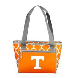 Tennessee Quatrefoil 16 Can Cooler Tote