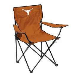 University of Texas Longhorns Quad Folding Chair with Carry Bag