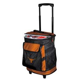 University of Texas Longhorns 48 Can Rolling Cooler