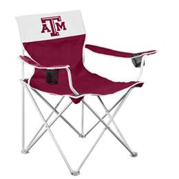 Texas A&M Aggies Big Boy Folding Chair with Carry Bag