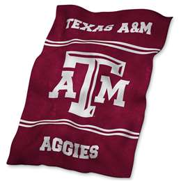Texas A&M Aggies UltraSoft Blanket - 84 X 54 in.